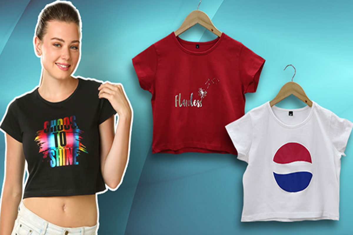 Look Stylish Everyday with Crop Tops for Girls Available Online