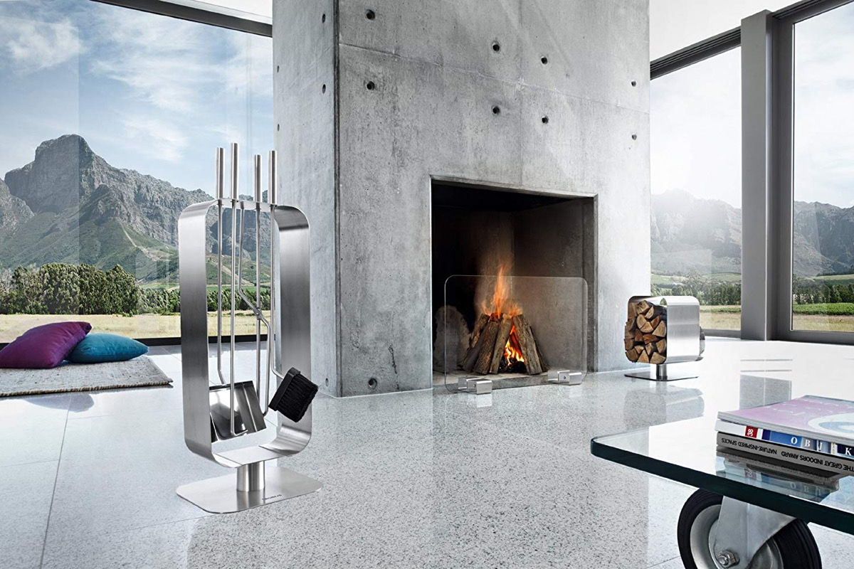 A Buying Guide to the Latest Modern Fireplace Tools